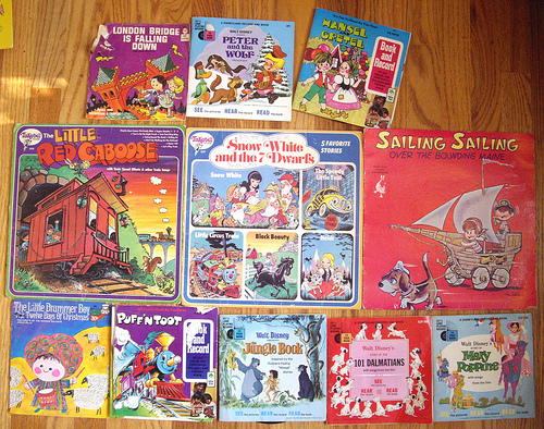 Kids Albums from the 70s! - set 3