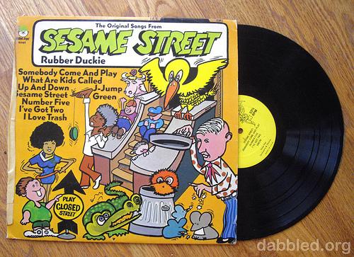 Sesame Street - Odd art!