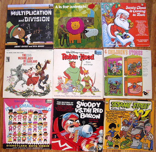 Kids Albums from the 70s! -set 1