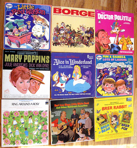 Kids Albums from the 70s! -set2