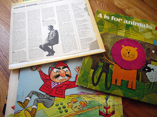 Kids Albums from the 70s!