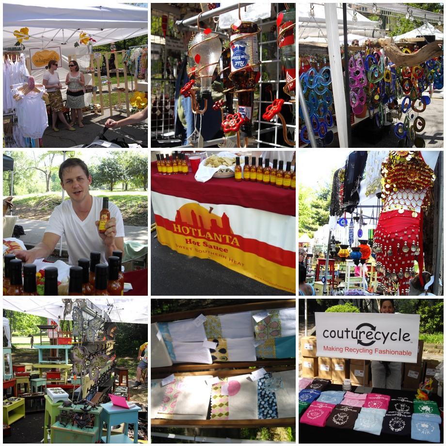 Preview: Random Vendor Booth Shots - Inman Park Fest 2009 Atlanta