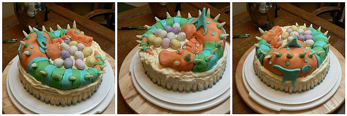 Dragon Cake - multi view