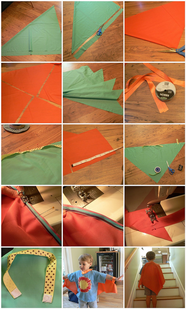 (Quick and Dirty) Dragon Wing Tutorial for party favors