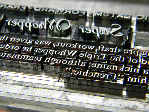 Type - Raleigh, Times, Gothic Bold