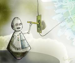 robot--lightsoff