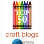 Thanks to Babble for naming Dabbled a top 50 craft blog