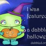 Halloween buttony goodness