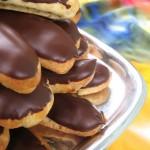 Chocolate Covered Coffee Petite Eclairs