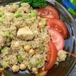 Don't fear the Quinoa!  Crunchy Quinoa Salad.