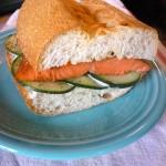 Lunch Ideas: Salmon Cucumber Sandwich