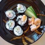 Summer Shrimp Sushi