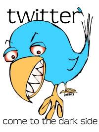 Twitter dark side