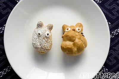 Super Punch: How to make Totoro cream puffs
