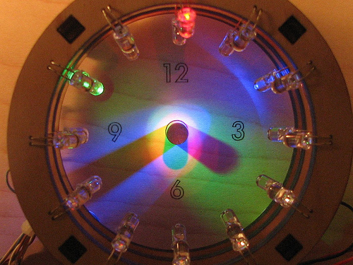 A Bulbdial Clock - Evil Mad Scientist Laboratories