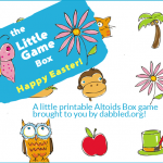 A printable altoids box game for Easter