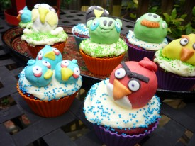 Angry Birds Cupcakes Tutorial