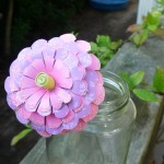 My quick attempt at a Zinnia