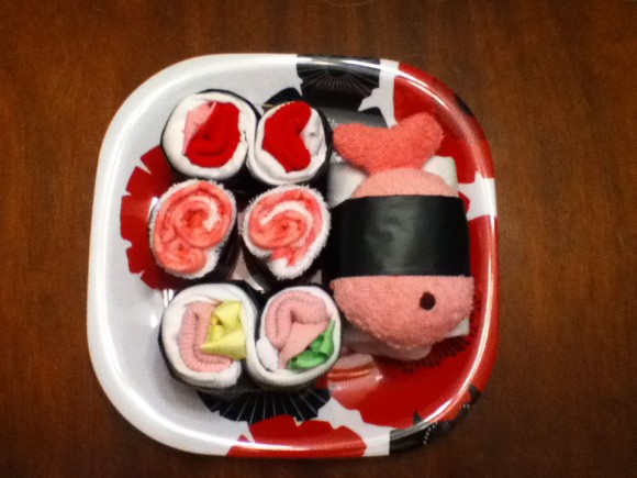 Dabbled | Sushi-themed Baby Shower Gift