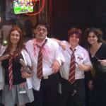 Zombie Harry Potter and crew