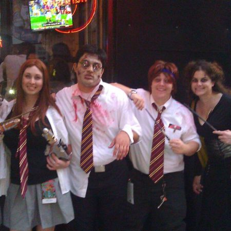 Zombie Harry Potter and crew