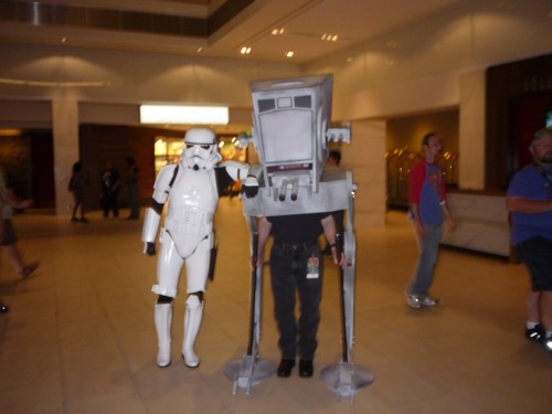 Trooper and Walker