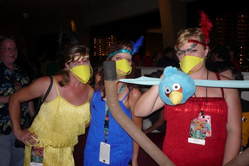 Some simple and clever Angry Birds