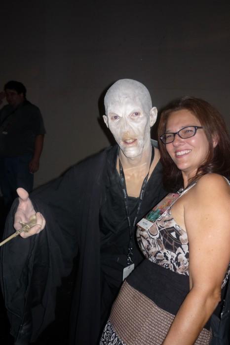 Excellently Creepy Voldemort