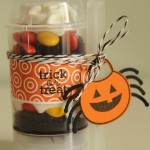 Push Pop containers for Halloween treats