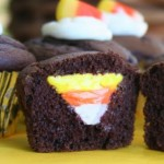 Candy Corn Cupcakes
