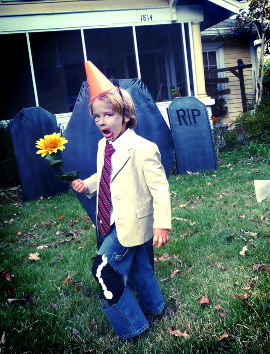 kids conehead zombie costume from plants vs zombies
