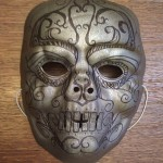 how to make a death eater mask