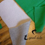 Fabric Rectangles (the 'good' side is the side you want to show on your scarf)