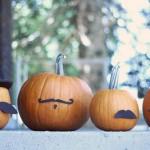 pumpkin mustaches