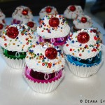 cupcake ornaments Diana Evans