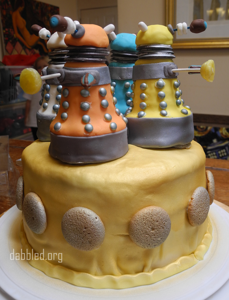 How To Make A Doctor Who Cake
