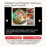 More cool Pinterest Tricks: Adding a feed of things pinned from your website