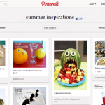 Summer Inspirations (and how to embed a Pinterest board on your wordpress blog)