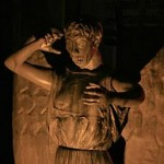 don't blink! halloween weeping angel build by macabre rob