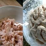 Braaains! Salmon Brain Dip every Zombie would just die for.