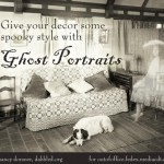 Another Halloween Creepy Decor Tutorial & Printables: Ghost Portraits