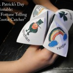St Patrick's Day Printable: Origami Fortune Teller (Cootie Catcher)