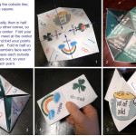 St Patrick's Day Printable: Origami 'Cootie Catcher'